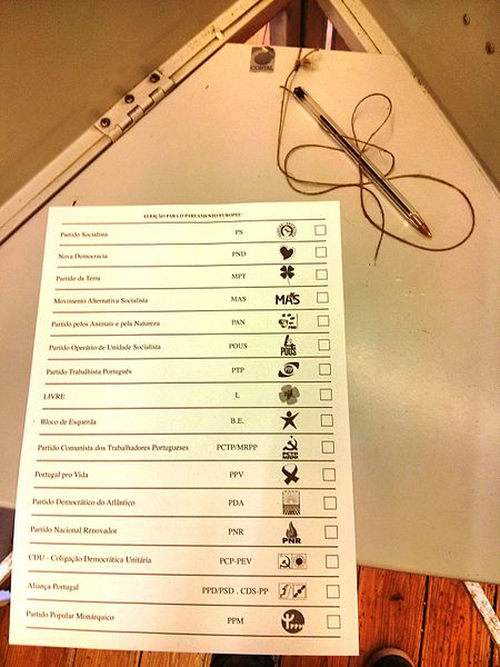File:Ballot paper in Portugal European Parliament Elections 2014.jpg