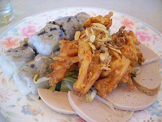Bánh cuốn - Image: Banh cuon nhan thit