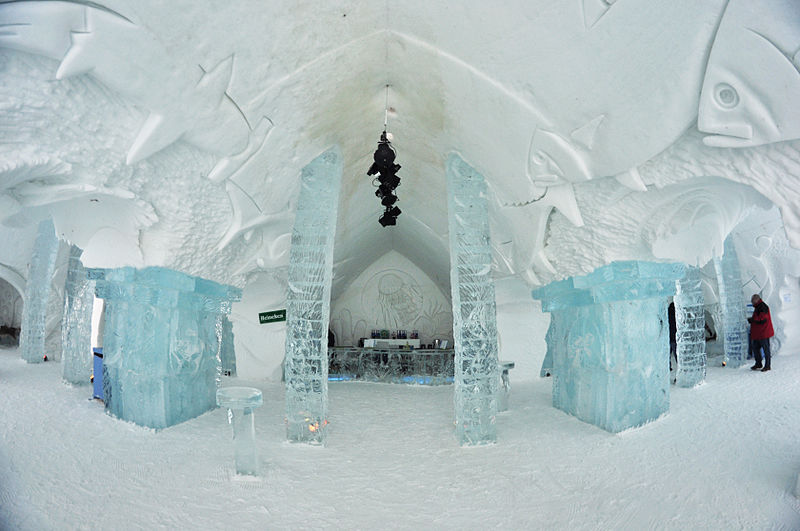 justfly reviews 5 stunning ice hotels in the world. Black Bedroom Furniture Sets. Home Design Ideas