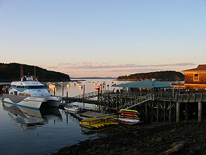 Dock von Bar Harbor