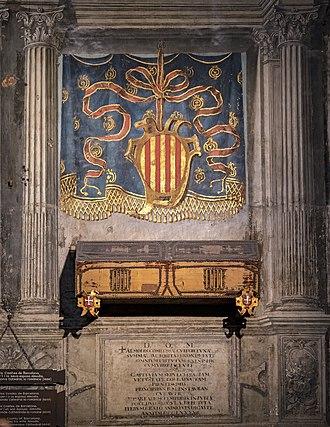 Almodis de la Marche - Tomb of Almodis de la Marche.