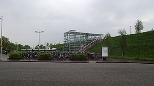 Barendrecht - West entrance to the railway station