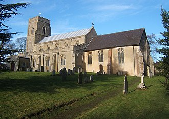Barking, Suffolk - Image: Barking Church of St Mary