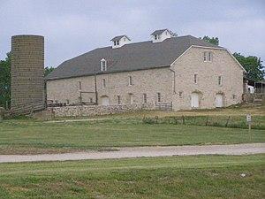 Tallgrass Prairie National Preserve - Image: Barn (no east facade) P5300397