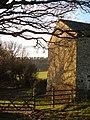 Barn and bridleway - geograph.org.uk - 292669.jpg