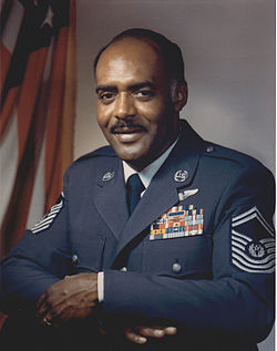 Chief Master Sergeant of the Air Force Thomas N. Barnes