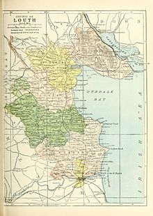 Map Of Ireland Louth.County Louth Wikipedia