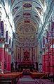Baroque church nave St Peter San Pietro Modica Sicily Sicilia Italy.jpg