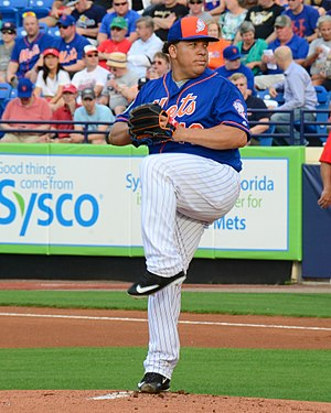 Bartolo Colón - Colón with the New York Mets in 2016