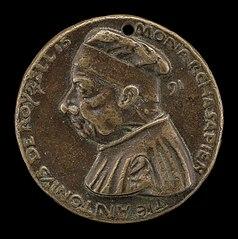 Antonio Roselli of Arezzo, 1380-1466, Jurist [obverse]