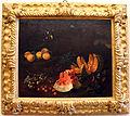 Bartolomeo bimbi, natura morta con frutta e due cardellini, ante 1697, 01.JPG