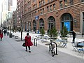 Baruch College East 25th Street pedestrian mall.jpg