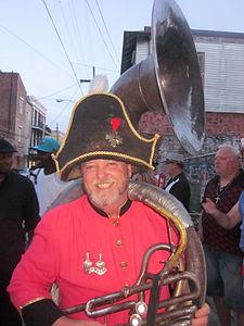 Bastille Tumble 2012 New Orleans Sousaphone.jpg