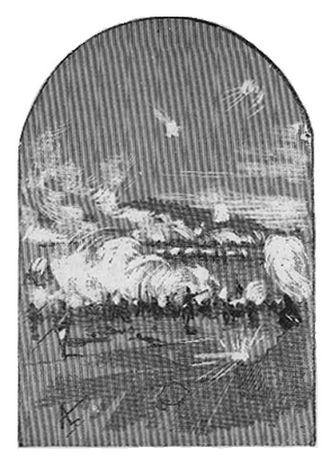 """Battle of Espinosa de los Monteros - Image: Batalla de Espinosa de los Monteros, Ilustración de """"Napoleón en Chamartín"""" de Galdós"""