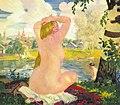Bathing. Kustodiev.jpg