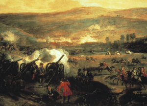 The Battle of the Boyne von Jan Wyck, ca. 1693