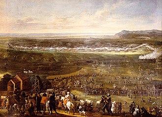 Battle of Landskrona - Image: Battle of Tirups Hed Johan Philip Lemke