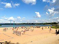 Beach volley at Hietsu 2013.jpg
