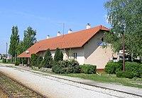 Bedekovčina railway station.JPG