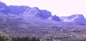 Beinn Bhàn (Applecross) - The corries on the eastern side of Beinn Bhàn