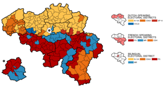 2010 Belgian federal election elections in Belgium