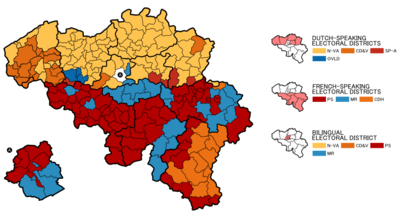 Belgian federal election 2010 map en nobackground.png