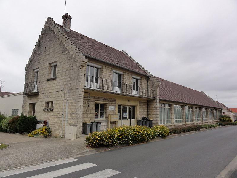 Belleu (Aisne) école Jules Verne
