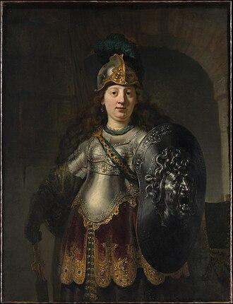 Bellona (goddess) - Image: Bellona, by Rembrandt van Rijn