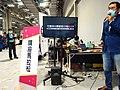 BenQ LCD TV and Kumakon at CN11 20201108.jpg