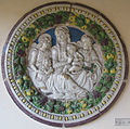 Benedetto buglioni, madonna col bambino, s. giovannino e due angeli, da collegiata.JPG