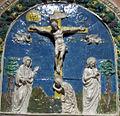 Benedetto buglioni, pala col miracolo di bolsena (1496) 05.jpg