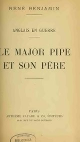 Benjamin - Le Major Pipe et son père, 1918.djvu