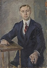 Herrenportrait Schmidt [Bildnis Rud. Johann Schmied]