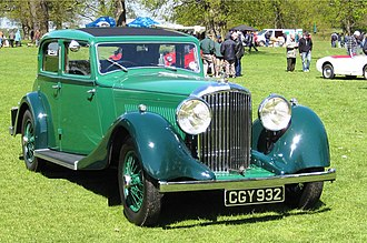 Bentley 3.5 Litre - Sports saloon by Park Ward, 1935