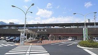 Beppu Station Railway station in Beppu, Ōita Prefecture, Japan