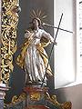 Bergatreute Pfarrkirche Hochaltar Figur außen rechts Philippus.jpg