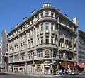 Berlin, Kreuzberg, Friedrichstrasse 209, Geschaeftshaus und Hotel.jpg