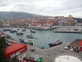 Vista general de Bermeo