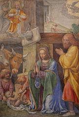 La Nativité et l'Annonce aux bergers