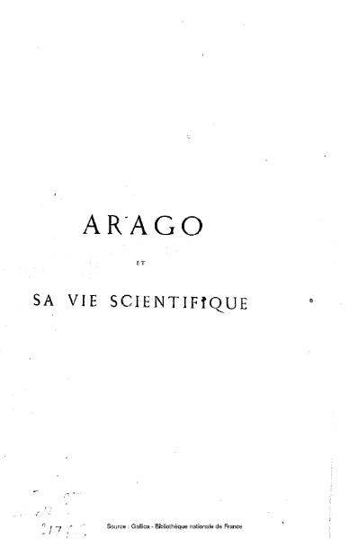 File:Bertrand - Arago et sa vie scientifique.djvu