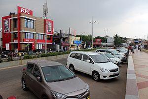 Besant Nagar - Besant Nagar Beach Road