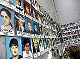 Photographs of victims of the Beslan school siege