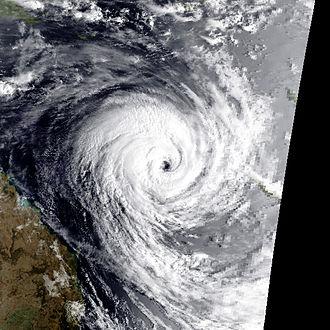 1991–92 South Pacific cyclone season - Image: Betsy jan 10 1992 2109Z