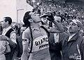 Bianchi, fotografia di Fausto Coppi all'arrivo della 9 tappa della 34 edizione del Giro d'italia, 1951 - san dl SAN IMG-00001815.jpg