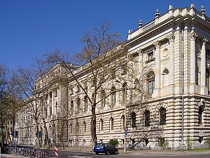 Hauptgebäude der Universitätsbibliothek Leipzi...