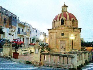 Bidnija Village in Malta Island, Malta