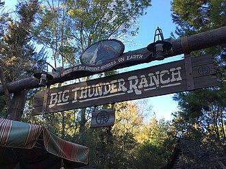 Big Thunder Ranch - Image: Big Thunder Ranch Sign (28066530290)