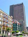 Bilbao - Calle Hurtado de Amézaga y Torre del Banco de Vizcaya 3.jpg