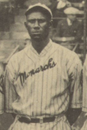 Bill Drake (baseball) - Drake at the 1924 Colored World Series