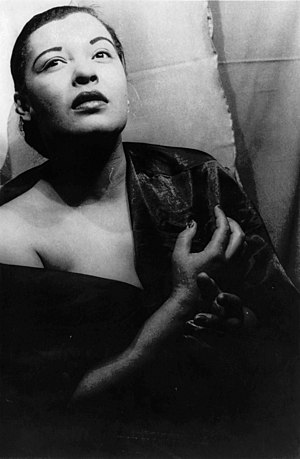 Music of Maryland - Billie Holiday was a famous jazz singer who grew up in Fells Point, Baltimore.